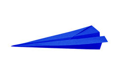 Paper recycle plane Stock Photography