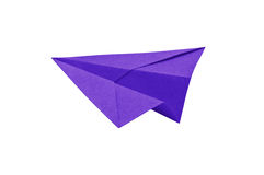 Paper recycle plane Royalty Free Stock Images