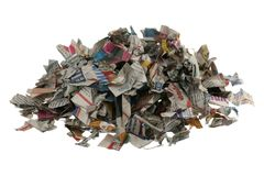Paper for recycling Royalty Free Stock Photo