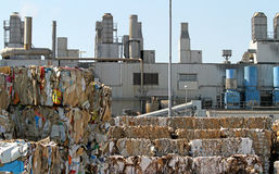 Paper recycling royalty free stock images