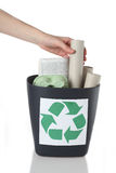 Paper recycling Royalty Free Stock Image