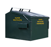 Paper recycling Royalty Free Stock Photos