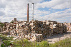 Paper recycling factory Stock Photos