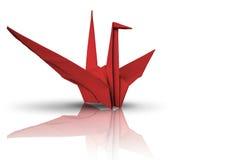 paper red för fågel Royaltyfria Foton