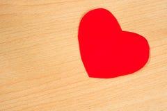 paper red för hjärta Arkivfoton