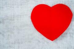 paper red för hjärta Royaltyfri Foto