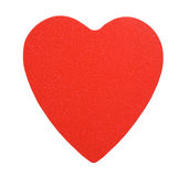 Paper red heart Royalty Free Stock Photos