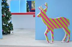 Paper reindeer Stock Images