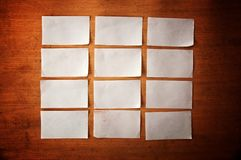 Paper reminder note Royalty Free Stock Image