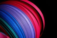 paper remsor för färg Royaltyfri Foto