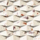 Paper repetitive blocks for seamless wallpaper. Paper blocks stacked for seamless background Stock Photos
