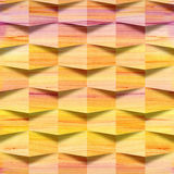 Paper repetitive blocks for seamless wallpaper Stock Photography