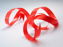 Paper ribbon Stock Images