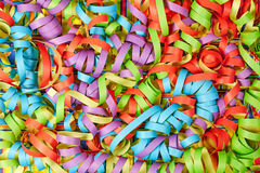Paper ribbons background Stock Photos