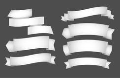 Paper  ribbons Royalty Free Stock Image