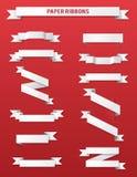 Paper Ribbons Royalty Free Stock Photos
