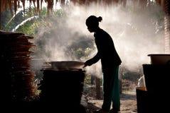 paper ricearbetare för fabrik Fotografering för Bildbyråer