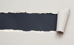 paper riven avståndstext Royaltyfria Foton