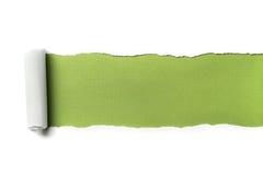 paper riven avståndstext Royaltyfri Fotografi