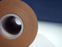 Paper Roll. Close-up shot of a paper roll stock images