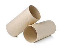 Paper roll of bathroom Stock Image
