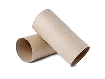 Paper roll of bathroom Royalty Free Stock Images