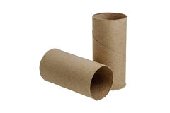 Paper roll Stock Image