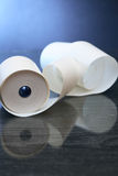 Paper Roll On Dark Royalty Free Stock Photo
