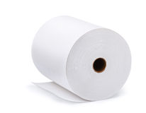 Paper roll royalty free stock photo