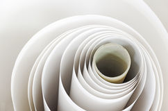 Paper roll in a print plant Royalty Free Stock Photography