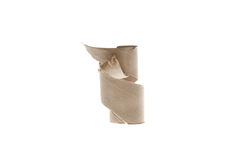 Paper roll on white background. Paper roll isolated on white background Stock Images