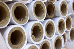 Paper Rolls Stock Image