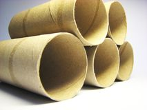 Paper rolls 7 royalty free stock photography
