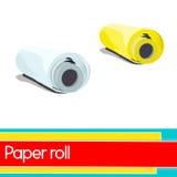 Paper rolls Stock Image