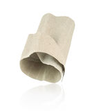 Paper rolls tissue isolated. On white background Stock Image