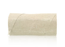 Paper rolls tissue isolated. On white background Royalty Free Stock Photography