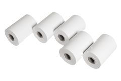 Paper Rolls Royalty Free Stock Photos