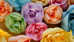 Paper rose art Royalty Free Stock Photos