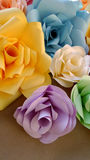 Paper rose art Stock Photography