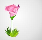 Paper rose Stock Photo