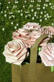 Paper roses Royalty Free Stock Images