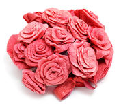 Paper roses Stock Images
