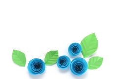Paper roses Royalty Free Stock Photos