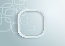Paper Rounded Rectangles Background Royalty Free Stock Photo
