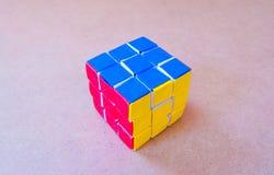 Paper rubik cube Royalty Free Stock Photos