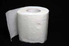 paper rulltoalett Arkivbild