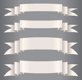 Paper`s ribbons Royalty Free Stock Photos