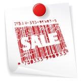 Paper sale announcement Stock Photo