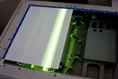 paper scaning Fotografering för Bildbyråer