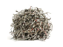 Paper scrap of newspaper Stock Photography